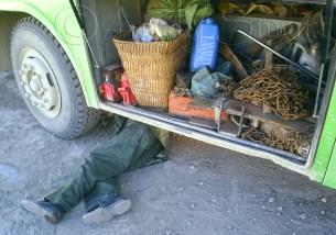 3 Day Sleeper Bus Journey, Tibet to Yunnan