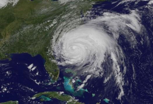 Hurricane Irene August 26 NASA Satellite