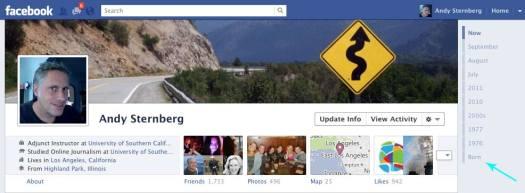 facebook timeline age bug