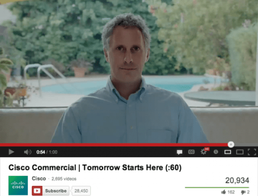 Cisco Commercial - Next Big Thing - Tomorrow Starts Here