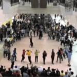 Announcer Andy Taylor. 2011 Arab Games Doha. Flash Mob