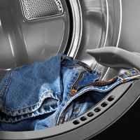 Relish. Jeans in a Dryer