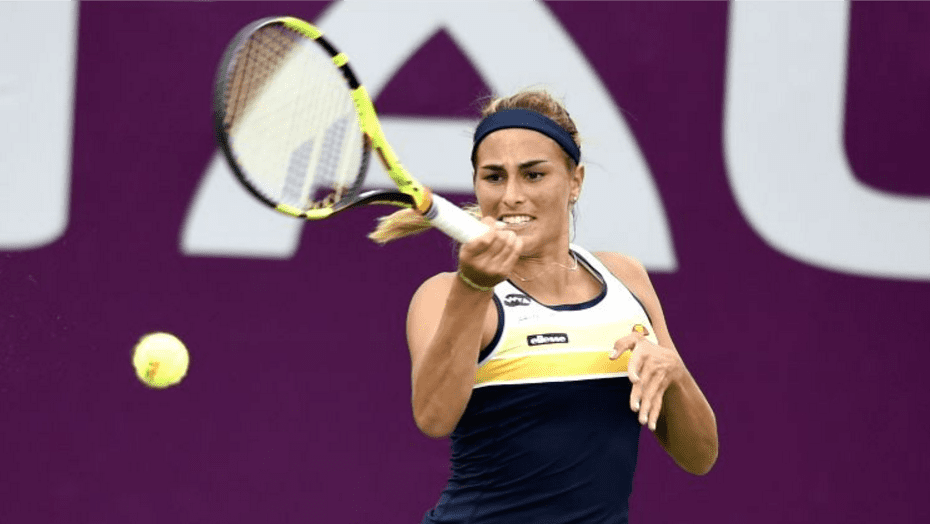 Monica Puig: Earned two wins on Wednesday to advance to the Doha Quarterfinals