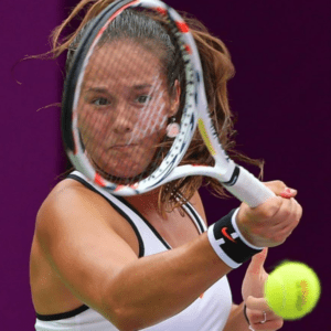 19-year-old Daria Kasatkina. Photo: Samer Al-Rejjal (Bein Sports)