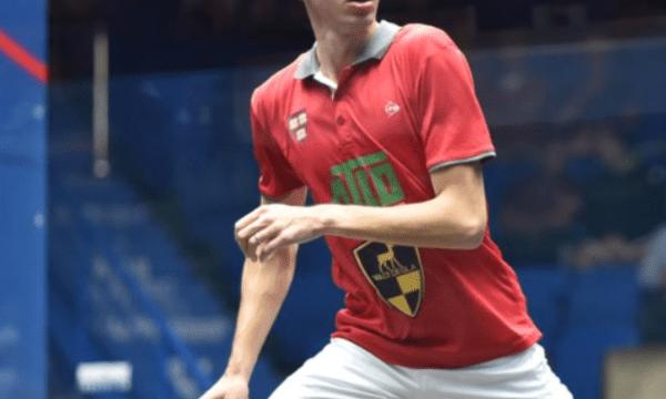 Andy Taylor. Squash Announcer. Qatar Classic Squash Championship. Day 1. Round 1. Ali Farag