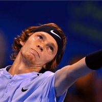 Andy Taylor. Tennis Host. Qatar ExxonMobil Open 2018. Day 5. Semifinals. Andrey Rublev