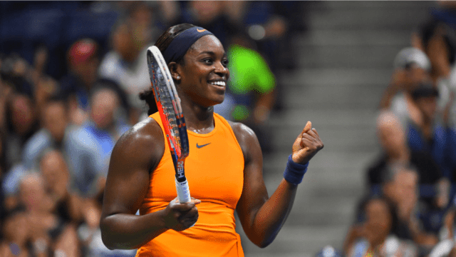 Andy Taylor Sports Host 2018 US Open 034 Sloane Stephens Round-4