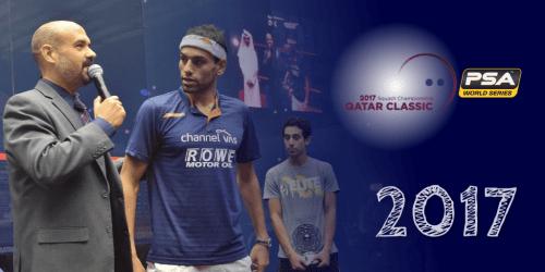 Andy Taylor Stadium Announcer 2017 Qatar Classic