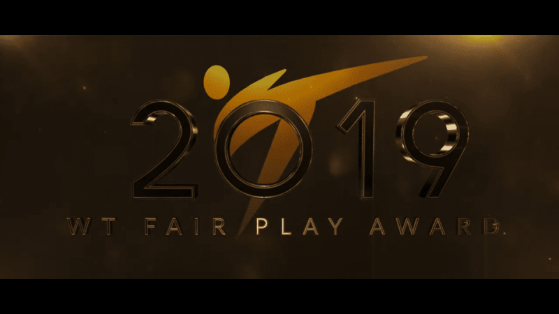 Voice Over Andy Taylor. Award Gala. World Taekwondo 2019 Fair Play