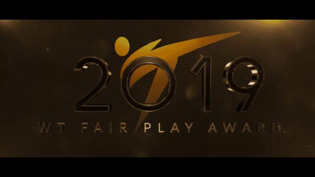 Voice Over Andy Taylor. Award Gala. World Taekwondo 2019 Fair Play
