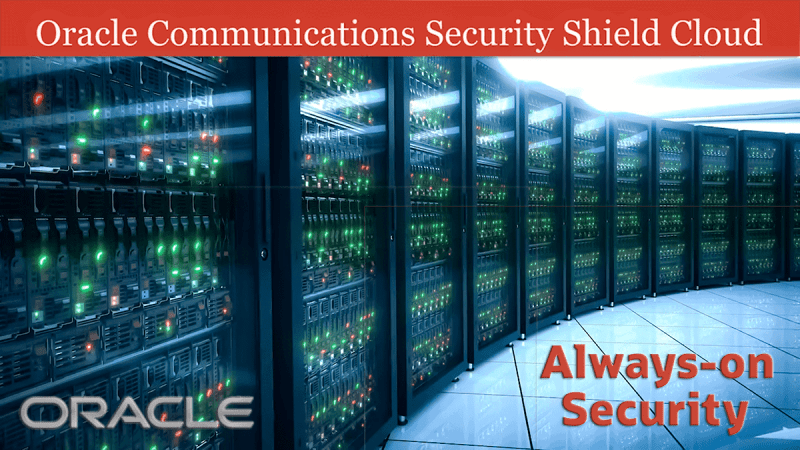 Voice Over Andy Taylor. Oracle Communications Security Shield Cloud Demo