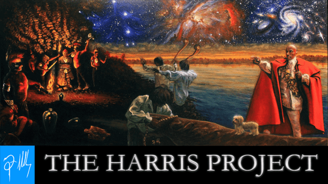 Narrator Andy Taylor. Audiobook Harris Project