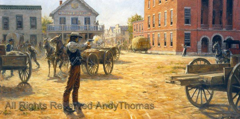 The Story of The Wild Bill Hickok vs Dave Tutt Gunfight