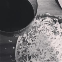 a partial pizza eclipse