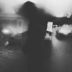walking' in the rain