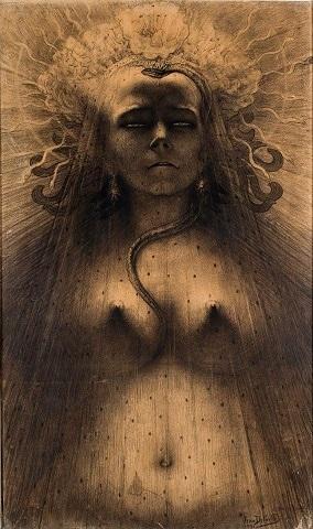 The Dark Goddess.