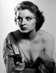 Vintage Photos of  Girl with Pistol (19)