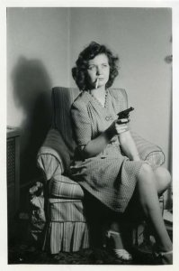 Vintage Photos of  Girl with Pistol (20)