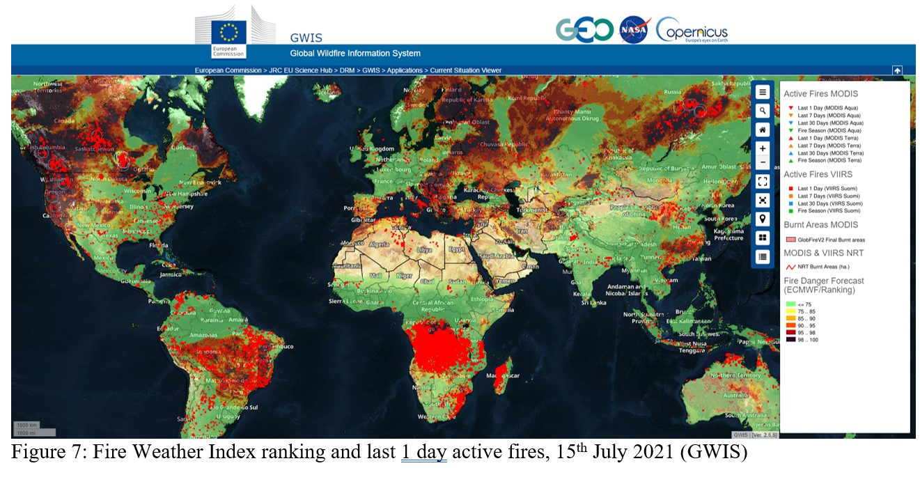 These five websites link to some of the most comprehensive and easy to understand sources of wildfire and drought information available for north america. Summer Of Extremes Floods Heat And Fire World Meteorological Organization