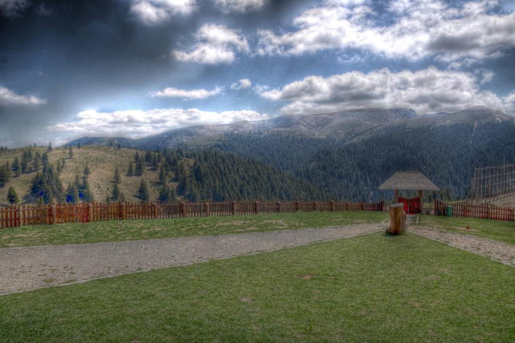 Vedere de la cabana Ciucas