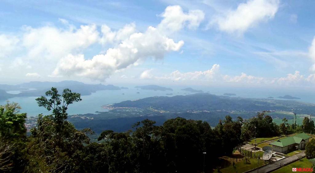 Langkawi, Malaezia - Gunung Raya view