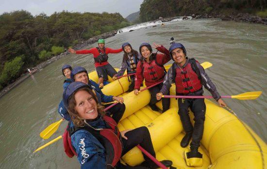 Fun rafting crew...