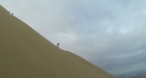 me figuring out the hill with my go pro