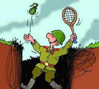 Первый закон военной инженерии — связка ломов обычно тонет. - Анекдоты