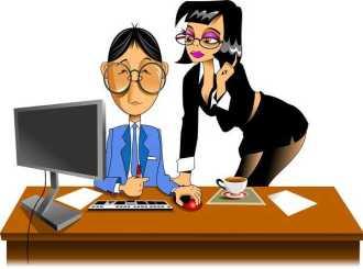 Анекдоты - Приходит девушка устраиваться на работу секретаршей.