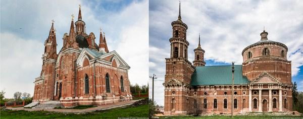 Две церкви в Липецкой области (фото) — Сайт Александра Нечаева