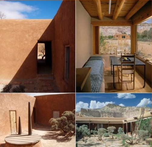 Georgia Okeeffe And Her Houses Ghost Ranch And Abiquiu By Barbara Buhler Lynes And Agapita