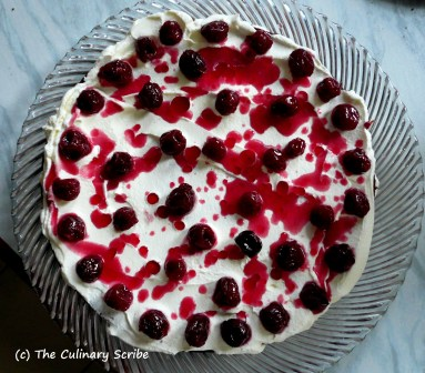 Black Forest Gateau_cherries and syrup