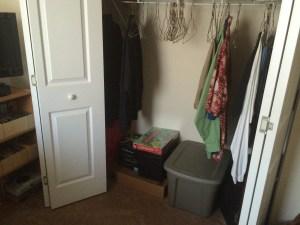 Before closet bottom