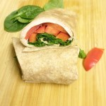 Simple and Healthy Turkey Wrap