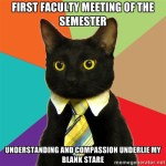 No more Faculty Meetings, please?