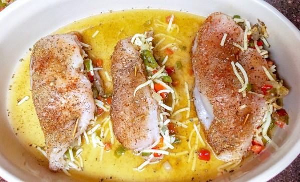 cajun stuffed chicken breasts