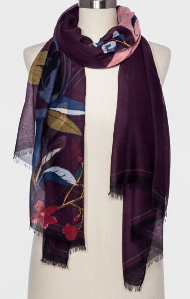 Target A new day oblong floral recycled scarf