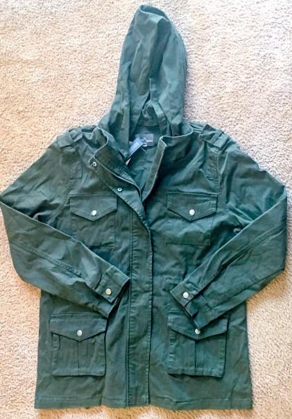 Market and Spruce Kathleen Cargo Jacket