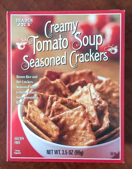 trader joes creamy tomato soup crackers