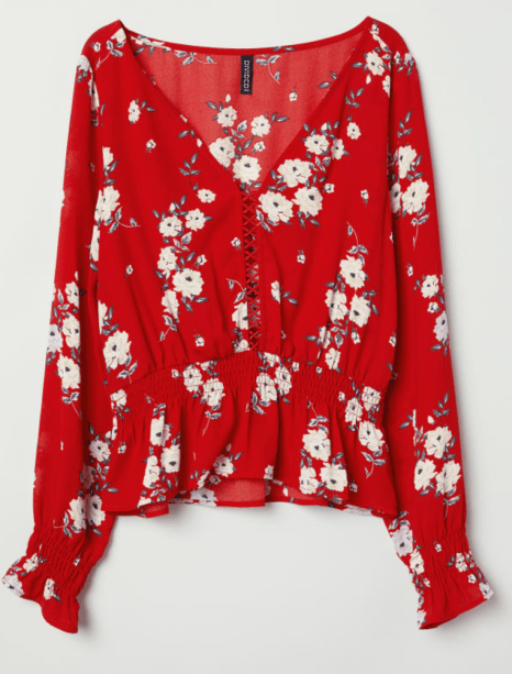 HM Patterned Blouse