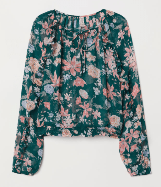 HM Airy Blouse
