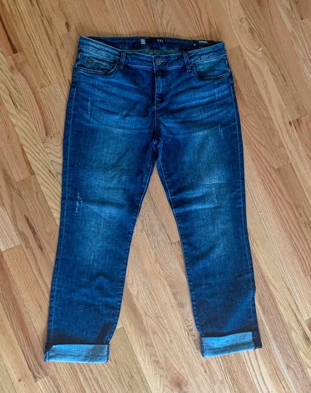 Kut From The Kloth Catherine Boyfriend Pocket Jean $89