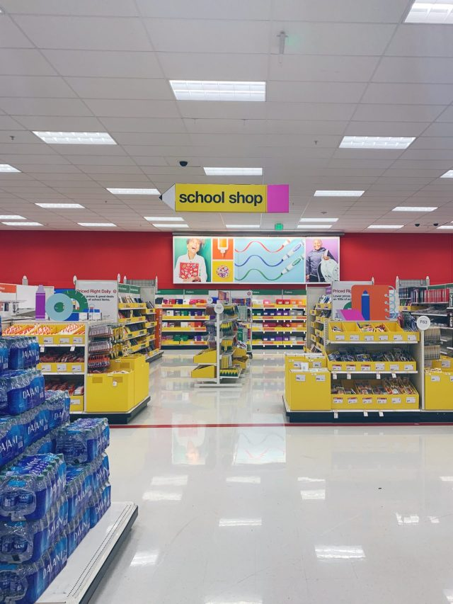 target school supply shop