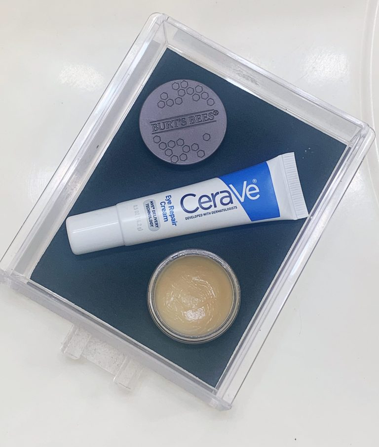 CeraVe and Burts Bees