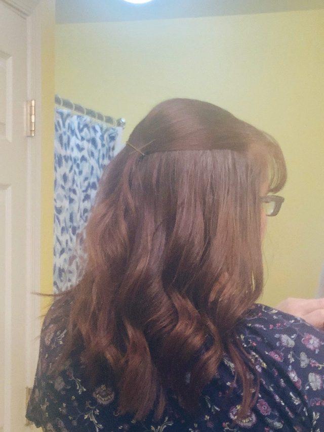 hair progress
