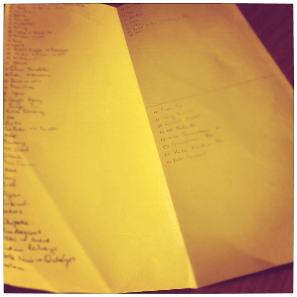 Something needs to be done about managing To Do lists..