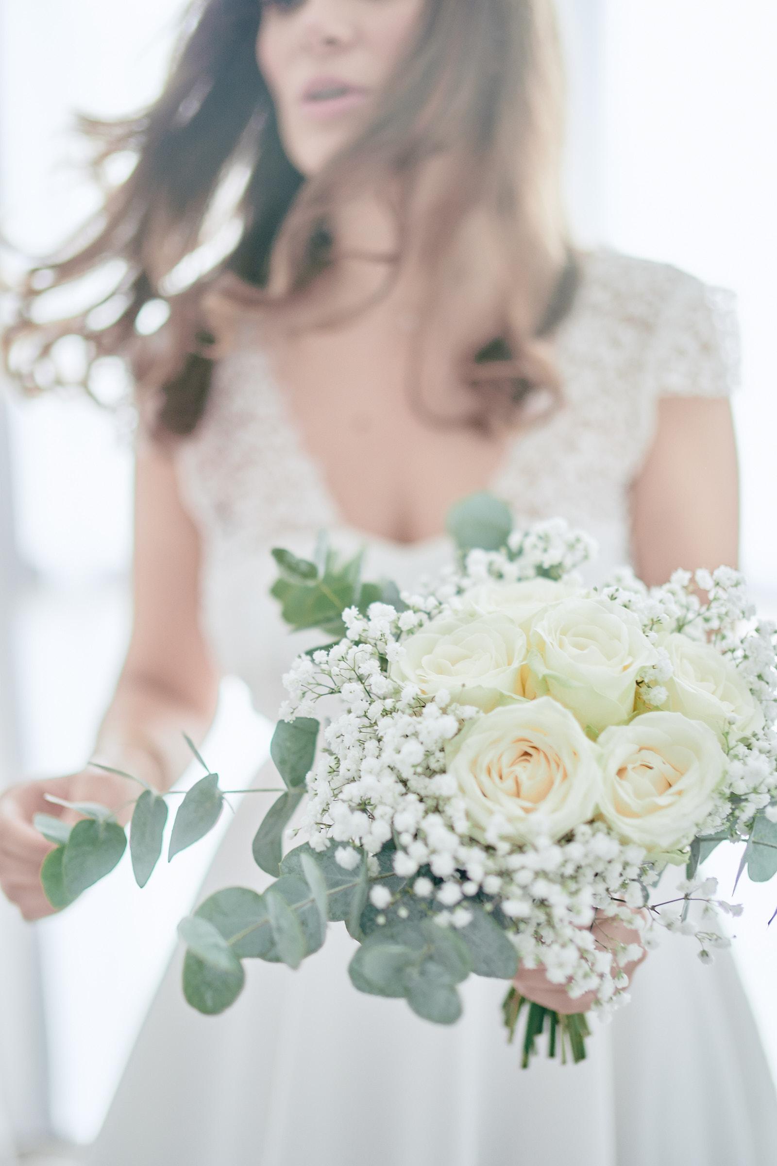bouquet de la mariée réalisé par rosa fleusite à rennes