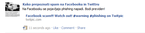 facebook objava opengraph