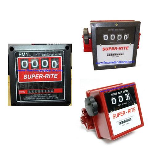 Harga Flow Meter Minyak Super Rite