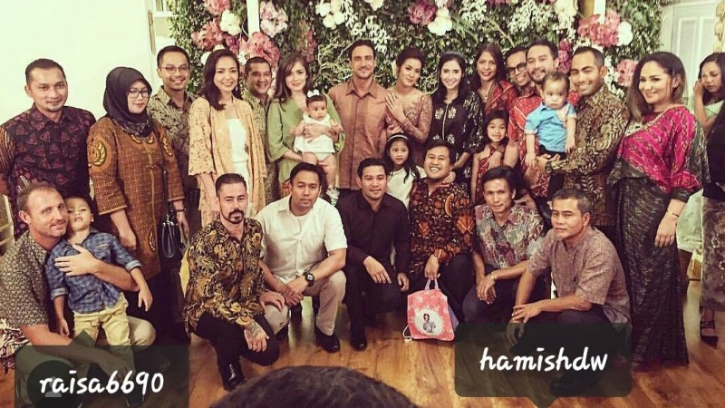 Raisa-Hamish Daud Bertunangan, Muncul #HariPatahHatiNasional